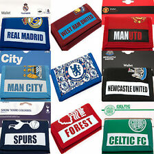 FOOTBALL CLUB SPORTS TEAM MONEY ID CARD NYLON CASUAL WALLET BIRTHDAY GIFT IDEA
