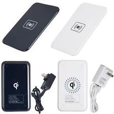 2 Color Qi Wireless Charger Pad+Power Adapter+ USB Cable for iphone 4 4S 5 5c 5s