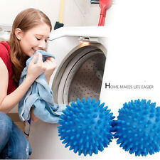 2/4x Dryer Ball Washing Laundry No Chemicals Soften Cloth Drying Fabric Softener