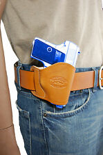 NEW Barsony Tan Leather OWB Yaqui Holster Walther, SIG Mini-Pocket 22 25 380