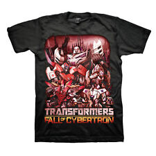 Transformers Fall of Cybertron Red Design Adult T-Shirt