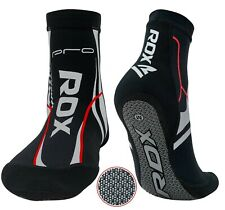 RDX Ankle Foot Support Pads MMA Brace Guard Socks Protector Muay Thai Injury GXR