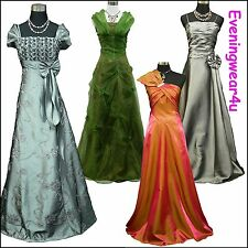Cherlone Satin Long Lace Ball Wedding/Evening Gown Prom Formal Bridesmaid Dress