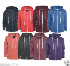 Womens Plain Hoodies For Ladies & Girls Sweatshirt  Fleece Hoodies XMAS Sale