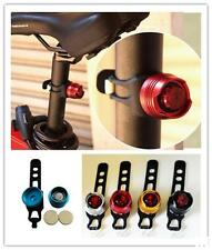 HO US New Bike Bicycle Red LED Rear Light Waterproof Tail Lamp Quick Release