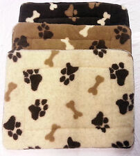 *new* Paws & Bones Pet Duvets Rugs Mat.. Various Colours And Sizes Available
