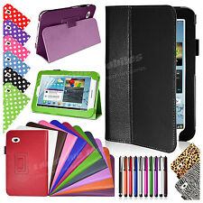 New Leather Smart Stand Case Cover for Samsung Galaxy Tab 2 P3100 P3110 7 Inch