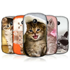 HEAD CASE CATS SNAP-ON BACK CASE COVER FOR SAMSUNG GALAXY MUSIC DUOS S6012 S6010
