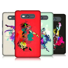 HEAD CASE DANCE SPLASH PROTECTIVE SNAP-ON BACK CASE COVER FOR NOKIA LUMIA 820