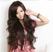 Cool2Day Women Charming Curly Wavy Hair Cosplay Costume Full Wig+cap party wigs