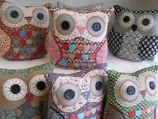 CUSHION ANIMAL HOME CHILDRENS OWL DECOR FLORAL UNUSUAL GIFT GIRL