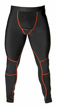 Mens Compression Thermal Tights Base Layer Long Pants Leggings running skins
