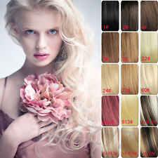 100g 120g,100% Real Clip in Human Hair Remy Extensions,7pcs(16clips)/full head