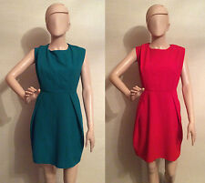 Primark Pleat Shirt Dress Red or Green *Classy and Elegant* BNWT