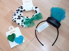 NWT GIRLS GYMBOREE FANCY DALMATIANS HEADBAND, HAIR CLIPS, U PICK!!
