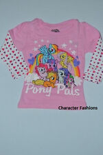 MY LITTLE PONY Size 2T 3T 4T Girls SHIRT TEE TOP Toddler PONY PALS