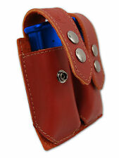 NEW Barsony Burgundy Leather Dbl Mag Pouch Sig-Sauer Walther Mini/Pocket 22 25