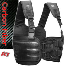 K1 - Carbon Fiber Karting Rib Vest Chest Protector - Kart Racing Youth to Adult!