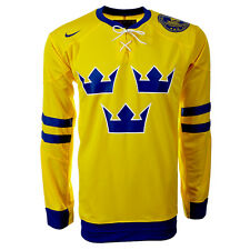 Ice Hockey Jersey Sweden NIKE XS S M L XL XXL 265238-749 New