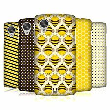 HEAD CASE DESIGNS BUSY BEE PATTERNS CASE COVER FOR LG GOOGLE NEXUS 5 D821