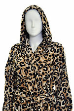 NEXT- Ladies Supersoft Dressing Gown With Animal Print Design- S M L XL