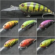 4 inch 1/2 oz Deep Diver Crankbait Fishing Lures For Bass 2X Strong Hooks C55