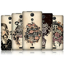 HEAD CASE INTROSPECTION PROTECTIVE SNAP-ON BACK CASE COVER FOR SONY XPERIA ZR