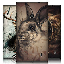 HEAD CASE POLY SKETCH PROTECTIVE SNAP-ON BACK CASE COVER FOR NOKIA LUMIA 520