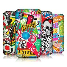 HEAD CASE STICKER HAPPY PROTECTIVE BACK CASE COVER FOR SAMSUNG GALAXY ACE S5830