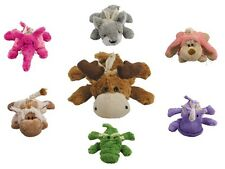 KONG Cozie Snuggle and Fetch Plush Squeaker Toy for Dogs & Puppies CHOOSE ANIMAL