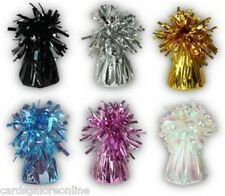 12 x FOIL HELIUM BALLOON WEIGHTS Wedding Anniversary Birthday Party Christening