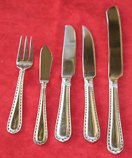 """HAMPTON SILVERSMITHS 18 10 STAINLESS STEEL """"NOBILITY"""" FLATWARE PICK 1 OR MORE"""