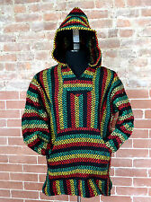AUTHENTIC BAJA HOODIE SURF/SKATE/BIKE NEW SOFT FEEL SMALL TO  XTRA-LARGE RASTA