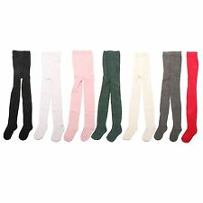 1 x Girls Kid Children Baby Toddler Teenager Cotton Rich School Uniform Tights