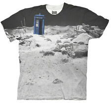 Doctor Who TARDIS Prehistoric Earth Adult Sublimation T-Shirt