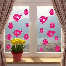 Easter Chicks Eggs Shop Window Wall Sticker Decal Transfer Decorations Vinyl