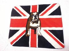 NEW CLASSIC BRITISH BULLDOG UNION JACK FLAG SOFT FEEL FLOOR MAT/RUG POSTAGE