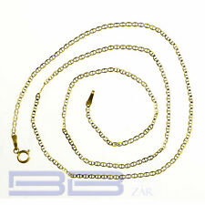 "14K yellow Gold Solid Gucci Link chain/Necklace 1.5mm 16"",18"",20"",22""(inch) &..."