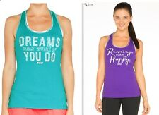 Lorna Jane Lady New Style Yoga Dance Sports Inspirational Tank Top XS S M L