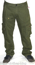 Ecko Unlimited Pants New Mens Twill Cargo Military Green Choose Size
