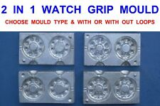 WATCH GRIP LEAD WEIGHT MOULD FOR COARSE RIVER SEA FISHING BOAT ROD RIGS LURES