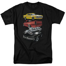 Fast and the Furious Muscle Car Splatter Licensed Tee Shirt Adult Sizes S-3XL