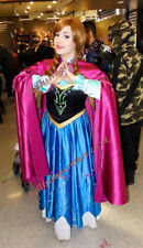 Disney Frozen Princess Anna costume adult SIZE 6,8,10,12,14,16 Anna dress