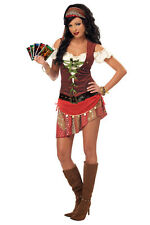 Sexy Eye Candy Mystic Gypsy Fortune Teller Adult Costume