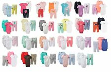 NEW NWT Girls Carter's 3 Piece Set Newborn 3 6 9 12 Months You Choose!