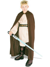 Child Licensed Star Wars Jedi Robe Outfit New Fancy Dress Costume Kids Boys BN
