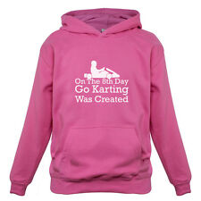 On The 8th Day Go Karting Was Created - Kids / Childrens Hoodie - Go Kart