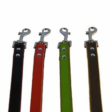 leather dog lead hand crafted high quality