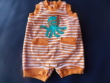 NWT Boy's Gymboree Octopus Hugs shirt shorts outfit ~ preemie 0 3 6 months
