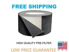 Universal Carbon HEPA Pre Filter Honeywell 38002, CP-6005 Replacement 16x48